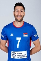 Nationality: Serbia Date of birth: 1990/06/01 Height: 207cm (6ft 9in) Weight: 98kg (216lb) Dominannt hand: Right European Union: NO National Team: YES