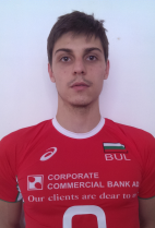 Nationality: Bulgaria Date of birth: 1991/07/07 Height: 198cm (6ft 6in) Weight: 84kg (182lb) Dominant hand: Right European Union: YES National Team: YES