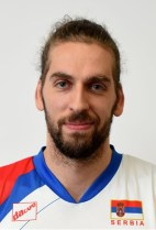 Nationality: Serbia Date of birth: 1986/02/27 Height: 204cm (6ft 7in) Weight: 90kg (195lb) Dominant hand: Right European Union: NO National Team: YES