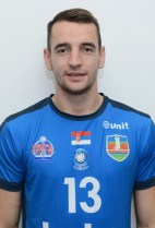 Nationality: Bosnia & Herzegovina Date of birth: 1997/01/08 Height: 195cm (6ft 4in) Weight: 87kg (190lb) Dominant hand: Right European Union: NO National Team: NO