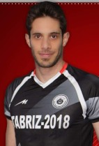 Nationality: Iranian Date of birth: 1985/04/17 Height: 195cm (6ft 4in) Weight: 88kg (198lb) Dominant hand: Right European Union: NO National Team: NO