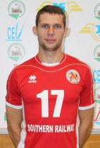 Nationality: Ukraine Date of birth: 1988/12/23 Height: 198cm (6ft 6in) Weight: 88kg (190lb) Dominant hand: Right European Union: NO National Team: YES