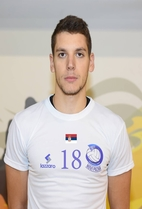 Nationality: Serbia Date of birth: 1995/04/17 Height: 195cm (6ft 4in) Weight: 90kg (190lb) Dominant hand: Right European Union: NO National Team: NO
