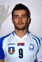 Nationality: Bosnia & Herzegovina Date of birth: 1989/06/07 Height: 197cm (6ft 5in) Weight: 85kg (185lb) Dominant hand: Right European Union: NO National Team: YES