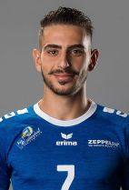 Nationality: Greek Date of birth: 1993/09/12 Height: 186cm (6ft) Weight: 80kg (170lb) Dominant hand: Right European Union: YES National Team: YES