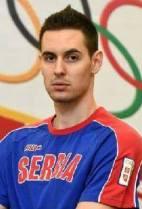 Nationality: Serbia Date of birth: 1991/08/02 Height: 204cm (6ft 7in) Weight: 87kg (187lb) Dominant hand: Right European Union: NO National Team: YES