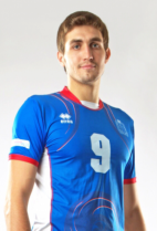 Nationality: Russina Date of birth: 1991/03/28 Height: 198cm (6ft 6in) Weight: 95kg (190lb) Dominant hand: Right European Union: NO National Team: NO