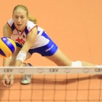 Suzana Cebic, Odbojka Volleyball, European championship, Evropsko Prvenstvo, Belgrade, Serbia, Saturday, October 01, 2011. (photo: Pedja Milosavljevic / thepedja@gmail.com / +381641260959)