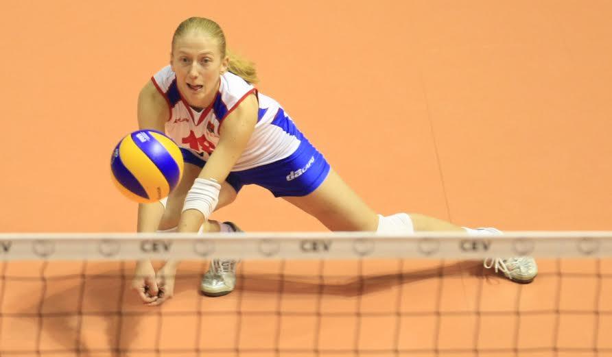 Suzana Cebic, Odbojka Volleyball, European championship, Evropsko Prvenstvo, Belgrade, Serbia, Saturday, October 01, 2011. (photo: Pedja Milosavljevic / thepedja@gmail.com / +381641260959)