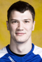 Nationality: Russian Date of birth: 1990/11/07 Height: 200cm (6ft 5in) Weight: 95kg (196lb) Dominant hand: Right European Union: NO National Team: NO