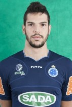Nationality: Brasil Date of birth: 1990/10/29 Height: 208cm (6ft 9in) Weight: 104kg (226lb) Dominannt hand: Right European Union: NO National Team: NO