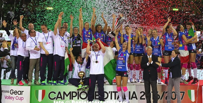 Novara is the champion of Italy!