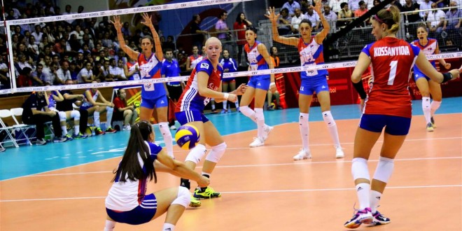 Serbia dominated in the first match!