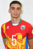 Nationality: Russian Date of birth: 13/05/1987 Height: 194cm (6ft 4in) Weight: 78kg (180lb) Dominant hand: Right European Union: NO National Team: NO