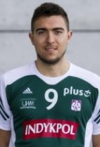 Nationality: Polish Date of birth: 1990/08/30 Height: 200cm (6ft 7in) Weight: 92kg (189b) Dominant hand: Right European Union: YES National Team: NO