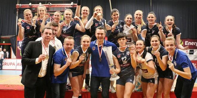 Energa MKS Kalisz won the frst league championship!