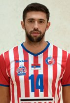Nationality: Serbia Date of birth: 1995/01/03 Height: 202cm (6ft 7in) Weight: 84kg (229lb) Dominant hand: Right European Union: NO National Team: NO
