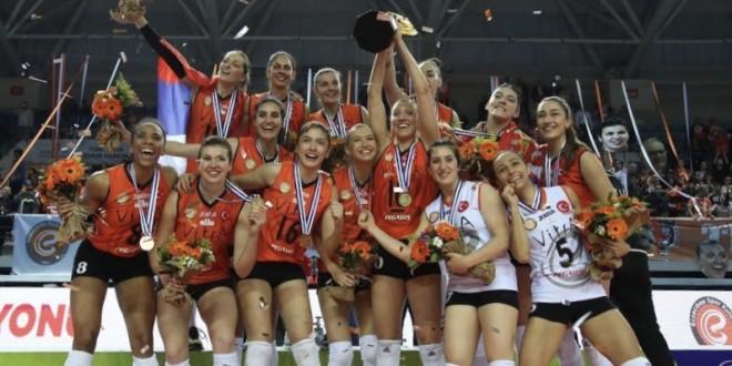 Eczacibasi won the CEV Cup!