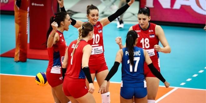 Serbia stays unbeaten at the FIWB World Championship 2018!