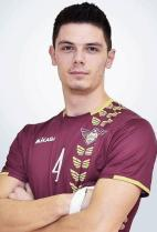 Nationality:Bosnia & Herzegovina Date of birth:1997/11/07 Height:193cm (6ft 4in) Weight:83kg (180lb) Dominant hand:Right European Union:NO