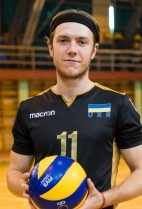 Nationality: Ukraine Date of birth: 1992/09/29 Height: 190cm (6ft 4in) Weight: 86kg (185lb) Dominant hand: Right  European Union: NO National Team: YES