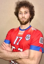 Nationality: Russia Date of birth: 1990/01/13 Height: 197cm (6ft 4in) Weight: 90kg (194lb) Dominant hand: Left European Union: NO National Team: NO