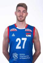 Nationality: Serbia Date of birth: 1995/02/22 Height: 206cm (6ft 9in) Weight: 94kg (216lb) Dominant hand: Right European Union: YES National Team: YES