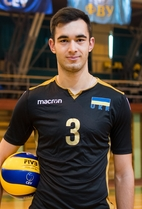 Nationality: Ukraine Date of birth: 1998/02/19 Height: 202cm (6ft 7in) Weight: 95kg (185lb) Dominant hand: Right European Union: NO National Team: YES